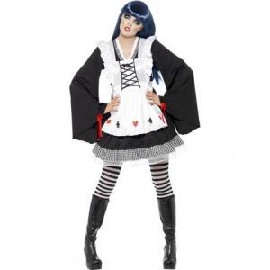 Goth Alice maskeraddräkt