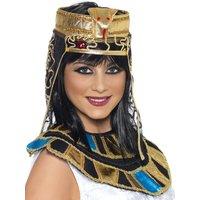 Egyptisk Huvudbonad - Guld & Svart