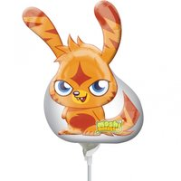 Moshi monster orange ballong - 23 cm folie