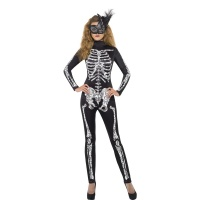 Skelett - maskeraddr�kt tight