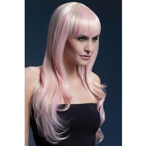 Peruk Sienna lång vågig - blond