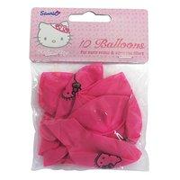 Hello Kitty ballonger 23 cm latex - 10 st