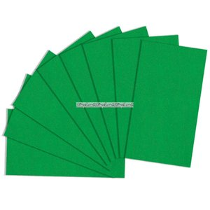 Presentpapper grön - 8 ark