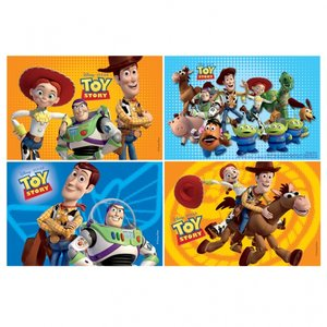 Toy story 3 pussel - 4 st