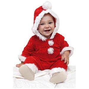 Jultomte bebis maskeraddräkt 1-2 år