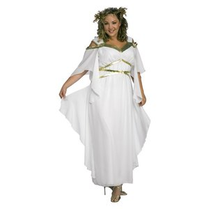 Plus size romersk gudinna maskeraddräkt