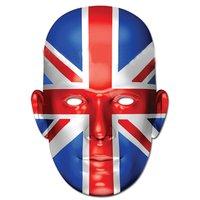 Ansiktsmask brittiska flaggan