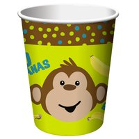 Monkeying around pappersmuggar 256 ml - 8 st