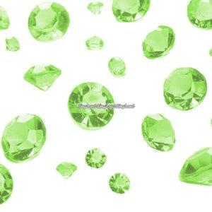 Gröna diamantkonfetti - 100g - 100 g