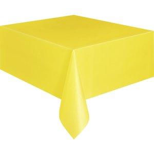 Bordsduk i plast - Gul