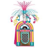 Rock 'n' roll jukebox bordsdekoration