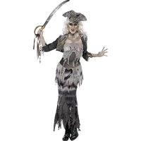 Ghoulina sp�kskeppspirat maskeraddr�kt