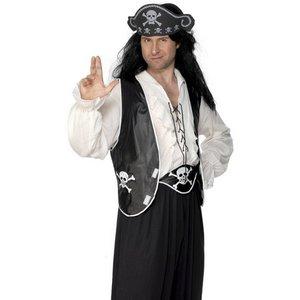 Pirat set med väst
