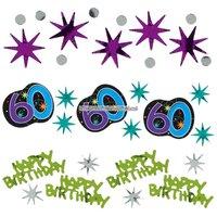 Bordskonfetti till 60-årsdagen - The party continues 34 g