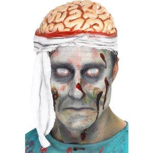 Bandage hjärna hatt