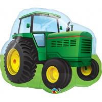 Traktor folieballong - 86 cm
