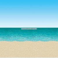 Hav och strand rumsdekoration