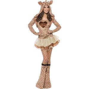 Giraff - maskeraddräkt tjej