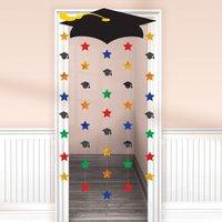 Dörrgardin med stjärnor till studenten 1,6m