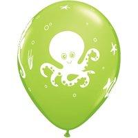 Ballonger med roliga havsdjur - 28 cm latex - 25 st