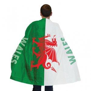 Wales flagga som cape