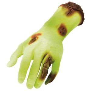 Grön avhuggen hand