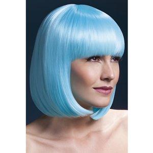 Elise peruk - neon turkos