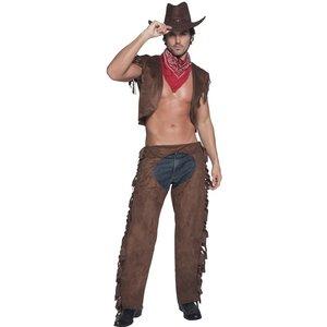 """Het """"Ride Em High"""" cowboy maskeraddräkt - Medium"""