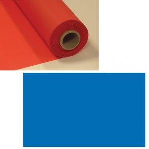 Mörkblå plastduk på rulle - 30 m