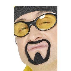 Ali G mustasch och bockskägg