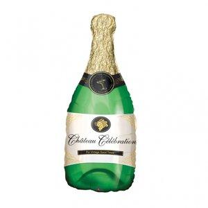 Folieballong - Champagne-flaska