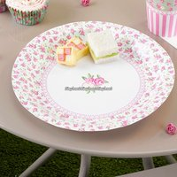 Frills & spills papperstallrikar 23 cm - 8 st