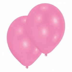 Rosa ballonger -28 cm pearl latex - 10 st