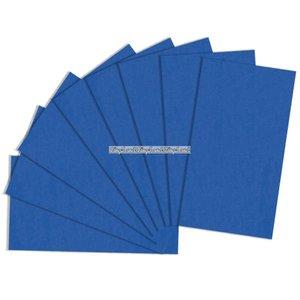 Blått presentpapper - 8 ark