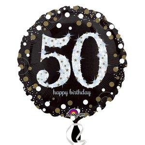 Folieballong - Sparkling Birthday 50