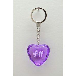 Diamant nyckelring - BFF