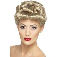 1940-tals Vintage peruk - blond