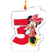 Mimmi Pigg Cafe - tårtljus till 3-årsdagen