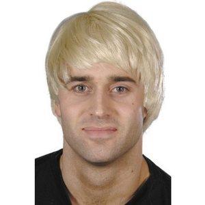 Peruk man blond