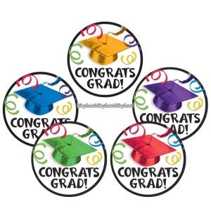 "Kartongkort ""Congrats Grad!"" - 10st"