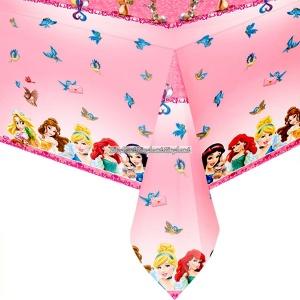 Disney prinsessa & djur - bordsduk i plast 1,2m x 1,8m
