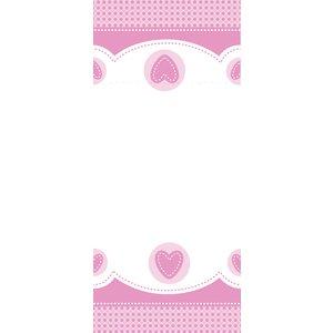 Söt babyelefant rosa bordsduk i plast