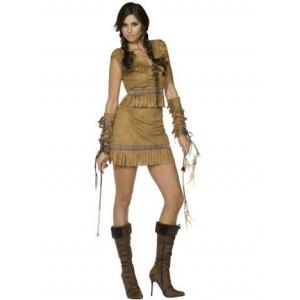 Pocahontas - maskeraddräkt delux