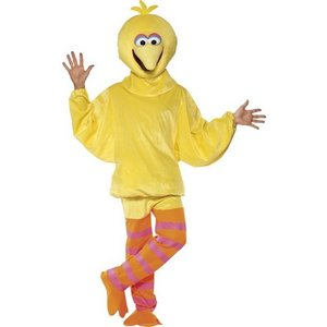 Sesame Street Big Bird maskeraddräkt - Medium
