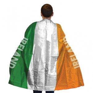 Cape med irländska flaggan