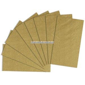 Presentpapper guld - 5 ark
