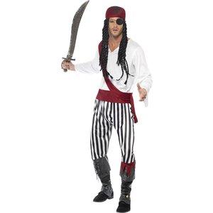 Pirat man maskeraddräkt vuxen
