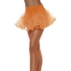Underkjol tyll orange