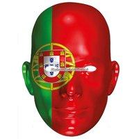 Ansiktsmask portugisiska flaggan