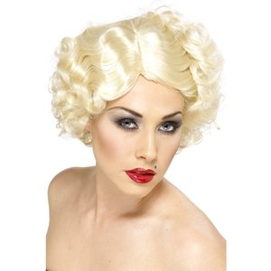 Hollywood ikon peruk blond